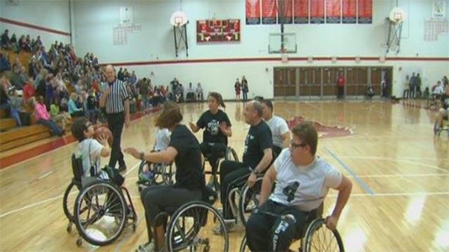 Gracie Meier created a youth wheelchair basketball league (Credit: KMOV)