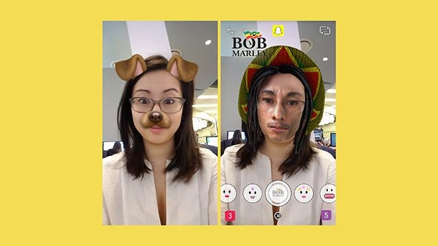 Snapchat added a new Bob Marley lens for 4/20 that has sparked outrage online.