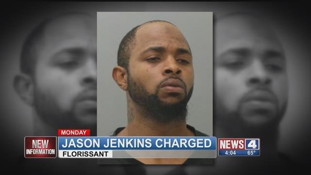 Jason Jenkins allegedly led officers on a chase from Litchfield to Florissant after allegedly hitting an Illinois conservation officer.