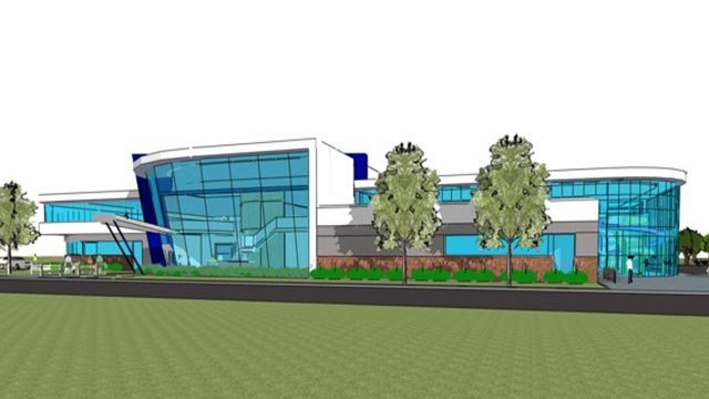 A rendering of the recreation facility in Fairview Heights (Credit: City)