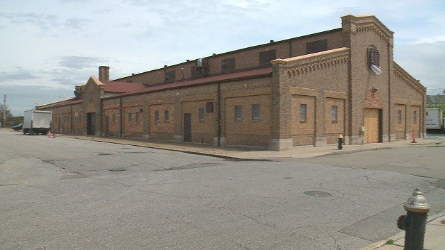 The proposed location for Biddle House is along North Tucker. (Credit: KMOV)