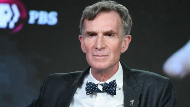 "Educator Bill Nye participates in the ""An Honest Liar"" panel at the PBS Winter TCA on Monday, Jan.18, 2016, in Pasadena, Calif. (Photo by Richard Shotwell/Invision/AP)"