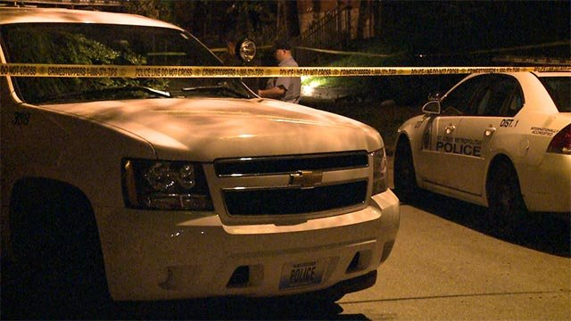 A man was found with a fatal gunshot in South City Sunday night (Credit: KMOV)