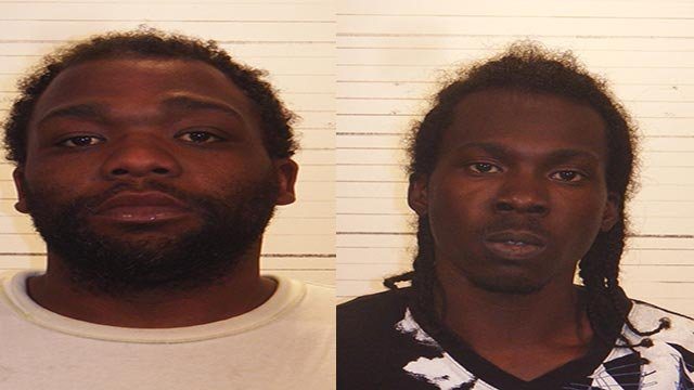 Tommie Fenton & Tydon Woolens are accused of breaking into an elderly woman's home (Credit: Police)