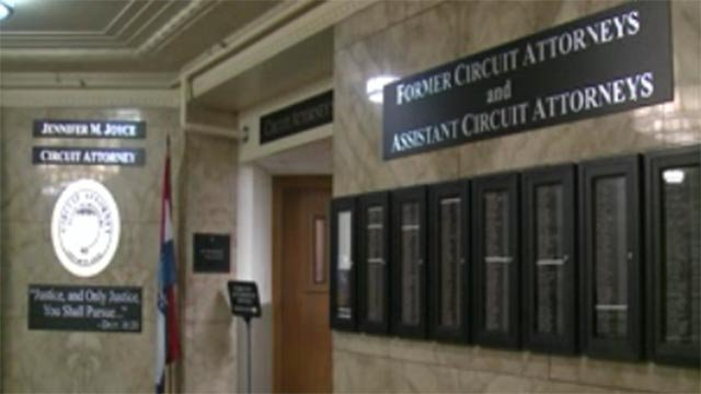 St. Louis circuit attorney's office (Credit: KMOV)