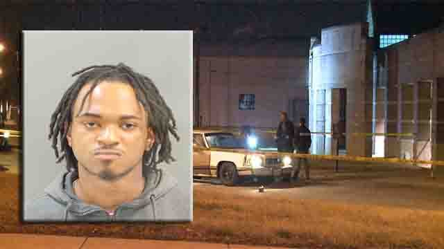 Police say Aaron Merchant, 23, of the 4700 block of Bessie Court, shot and killed Ryan McDermott on February 23.
