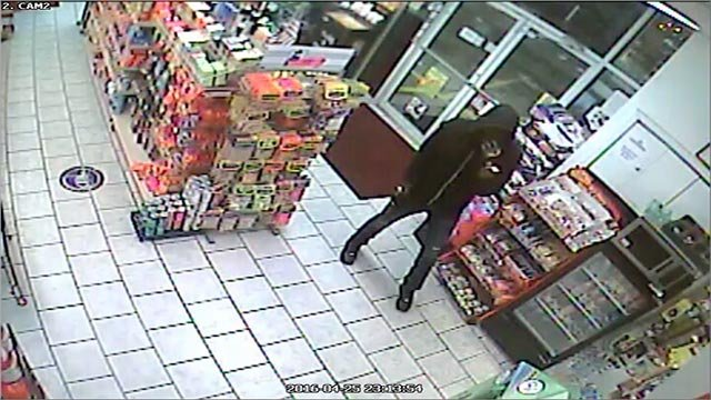 Anyone who recognizes the suspect should contact CrimeStoppers at 866-371-TIPS (8477).