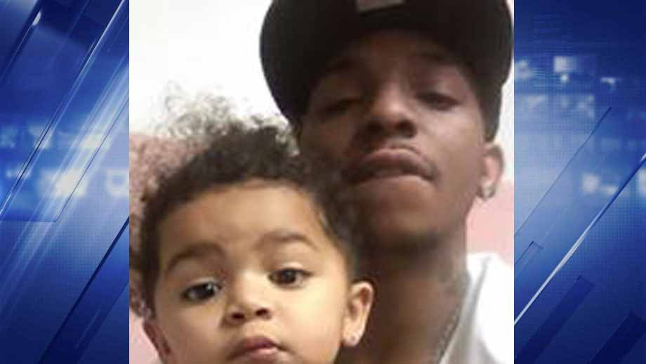 Police believe Collinsville resident Tchaka Spiller abducted his daughter, 2,  (pictured). Authorities believe he may be driving to Chicago or Kansas City. Credit: Madison County State's Attorney