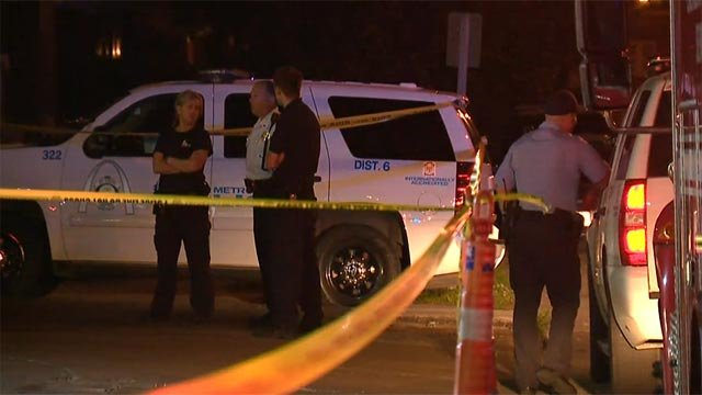A man was found with a fatal gunshot wound in the 4100 block of West Florissant May 20 (Credit: KMOV)