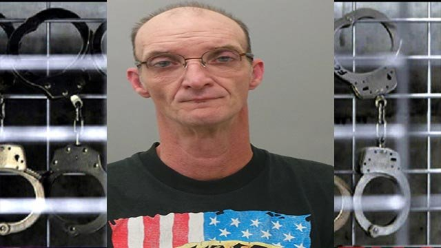 Robert Barteau, 52, is a convicted sex offender who is accused of loitering within 500 feet of a park with a playground/pool in St. Louis County (Credit: Police)