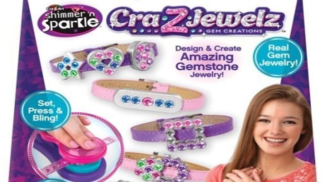 About 175,000 toy jewelry kits imported from China are being recalled due to high lead content that can pose a risk to children. (Credit: CPSC)