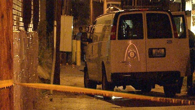 A man was shot in the 5500 block of West Florissant around 3:55 a.m. Thursday (Credit: KMOV)