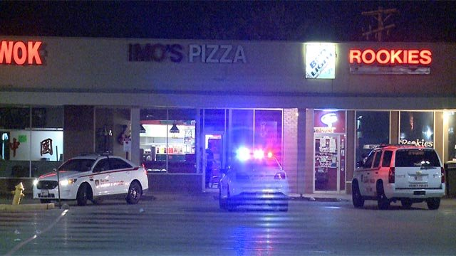 An armed robbery took over $1,000 from a North County Imo's Wednesday night (Credit: KMOV)