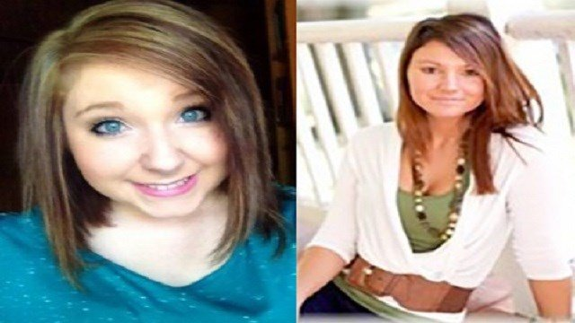 Abigail Liefer (L) was driving with 2 passengers including Hannah Porter (R), when they were struck and killed (only Liefer & Porter) by a vehicle driven by Crystal Steinheimer in 2015. The third passenger had minor injuries (Monroe Co. News)