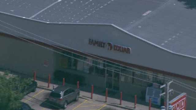 Police say someone was shot outside the Family Dollar Store in Berkeley on June 21. Credit: KMOV