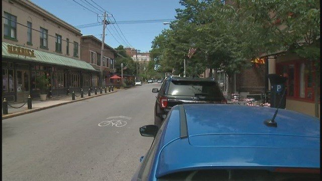 Area of CWE robbery on June 21 at McPherson Avenue and Euclid Avenue (Credit: KMOV)