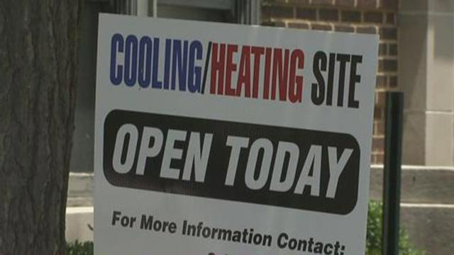 Cooling site open sign (Credit: KMOV)
