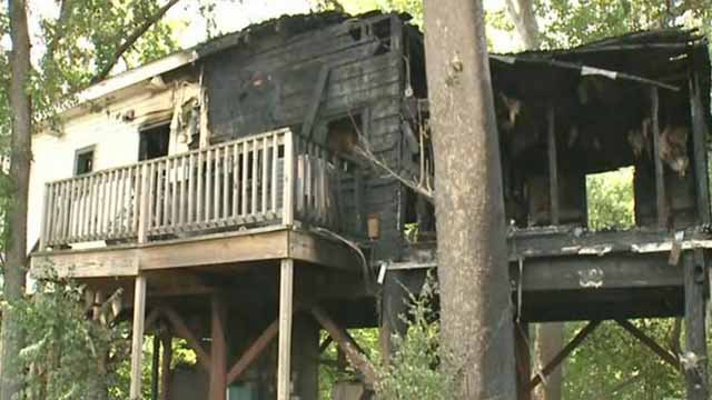 One person died in a fatal house fire in Eureka on June 22. Credit: KMOV
