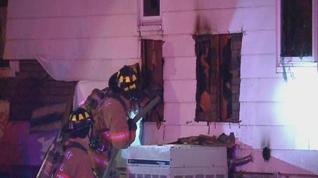 Firefighters were called to a blaze in Bethalto overnight (Credit: KMOV)