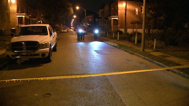 A man was shot in the abdomen in the 5900 block of Romaine Place Friday (Credit: KMOV)