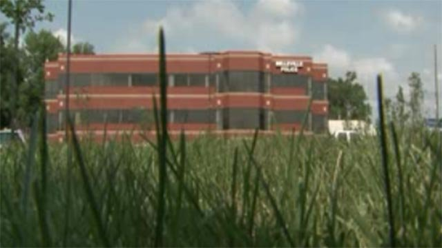 The outside of the new Belleville Police Department building (Credit: KMOV)