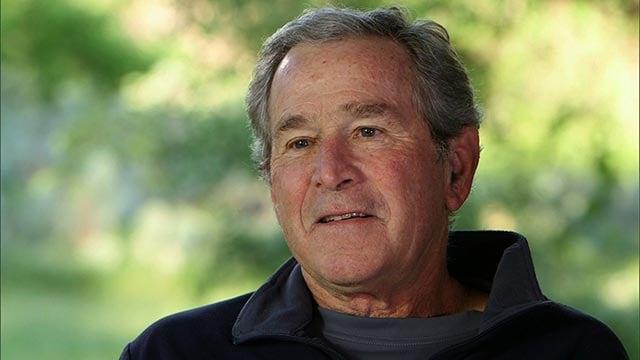 Former President George W. Bush (Credit: CNN)