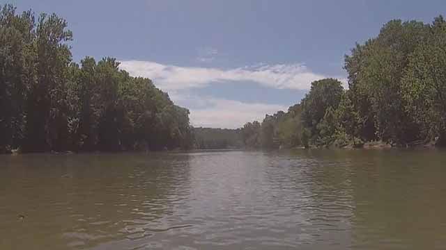 Meramec River. Credit: KMOV