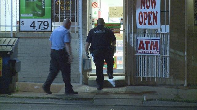 Police investigating after burglary at 4478 Natural Bridge (Credit:KMOV)