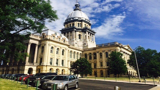 The Illinois State Capitol Building in Springfield, Illinois. (Credit: KMOV)