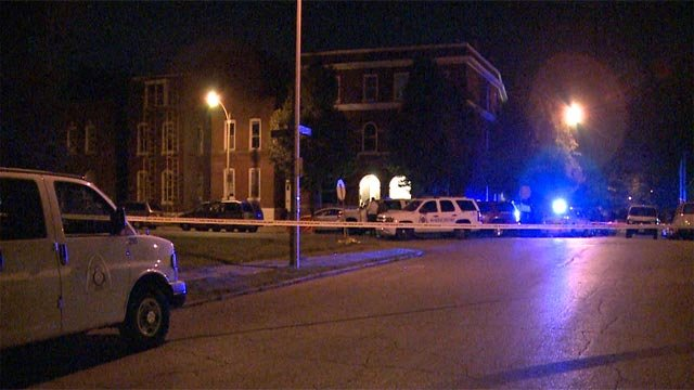 Homicide detectives were called to the 2900 block of Texas Thursday (Credit: KMOV)