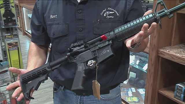 An AR-15. Credit: KMOV