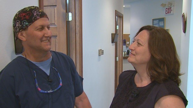 George and Renae Helden's insurance policy was discontinued in the middle of George's treatment for cancer.  George does not have much time left. Credit: KMOV