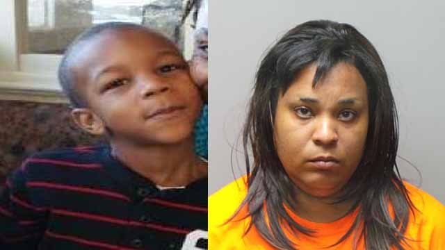 Police believe Alonzo Manning, 6, may have been taken by Kelly Walton, 33, who was supposed to baby sit him. Credit: Overland PD