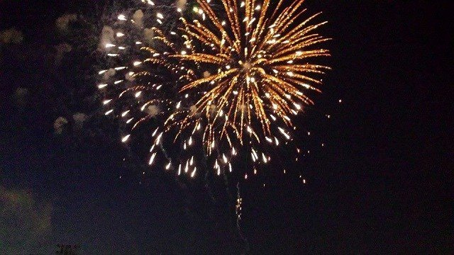 Past fireworks display at Ritenour High School (Credit: City of Overland Official Website)
