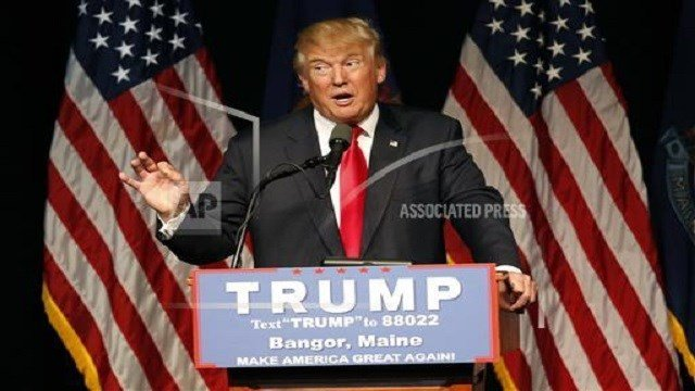 Republican presidential candidate Donald Trump (credit: AP Images)