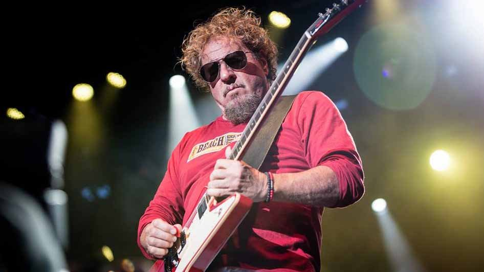 Sammy Hagar performing at Fair St. Louis on July 3. Credit: KMOV