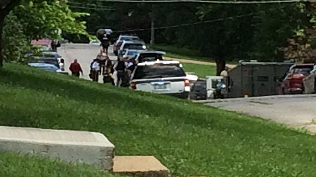 DeSoto police were engaged in a standoff Tuesday (Credit: KMOV)