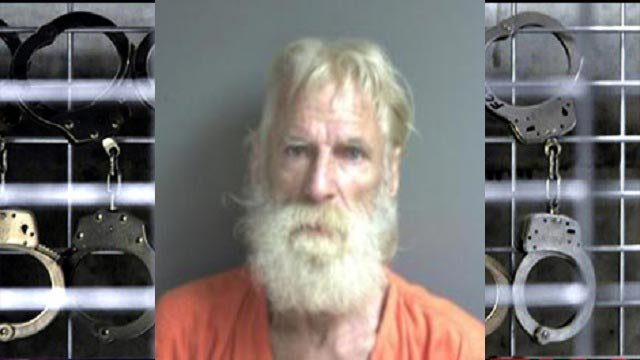 """William Lee, 64, is accused of being passed out with a """"shake-n-bake"""" meth lab in Catawissa, Mo. (Credit: Police)"""