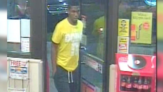 The St. Louis Police Department is asking for the public's help identifying this suspect wanted for robbery. (Credit: KMOV).