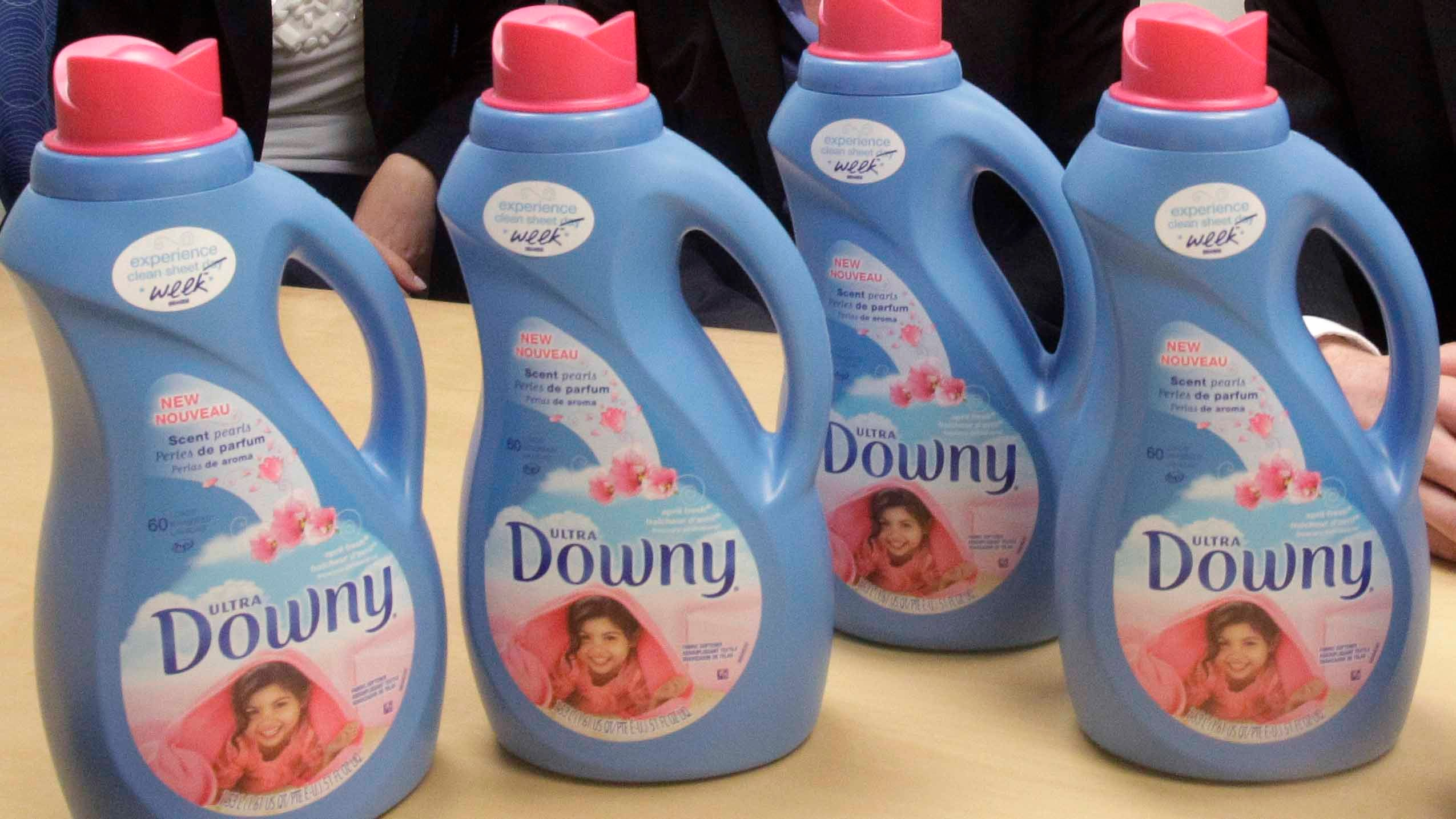 Downy fabric softener. Credit: AP images