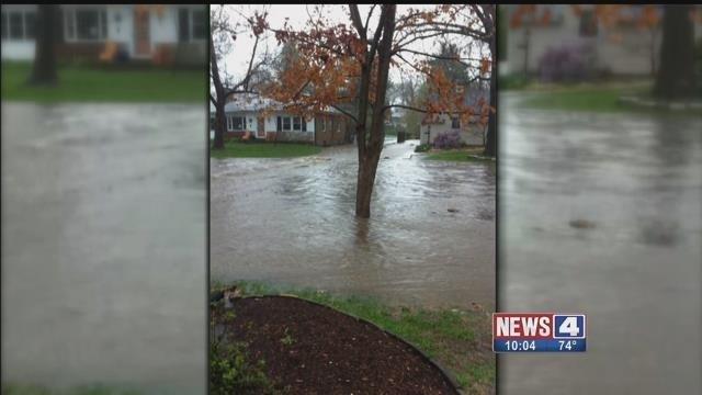 Past flooding in Webster Groves (Credit: KMOV)