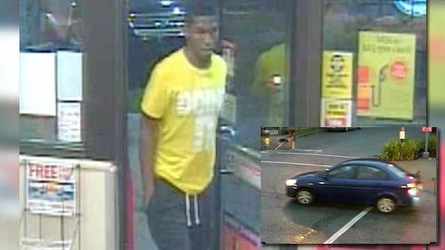 Police say they caught this suspect on July 7 who they say is responsible for a series of armed robberies in south St. Louis (Credit: KMOV).