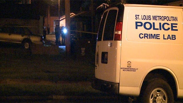 A man was fatally shot in the 8200 block of South Broadway Friday (Credit: KMOV)