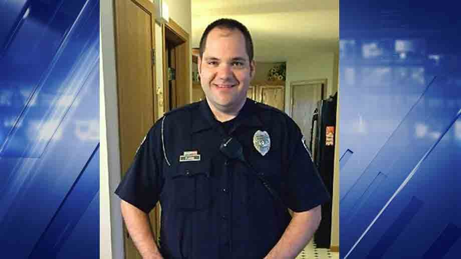 Officer Mike Flamion was critically injured during a shooting on Ballwin on Friday.