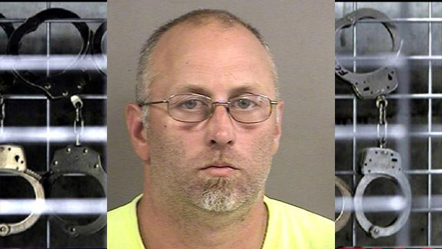 Robert Branson, 36, is accused of sexually abusing a girl between March 2011 and March 2016 (Credit: Phelps County)