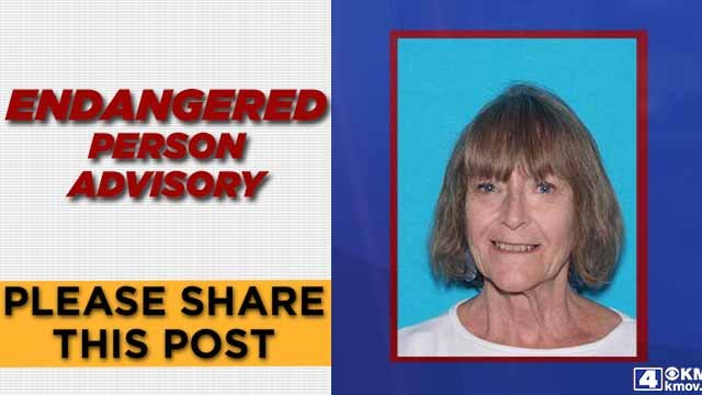Minnie Lowe, 72, was last seen at her home in Wright City on June 14. She has dementia and a series of health problems. Credit: Wright City PD