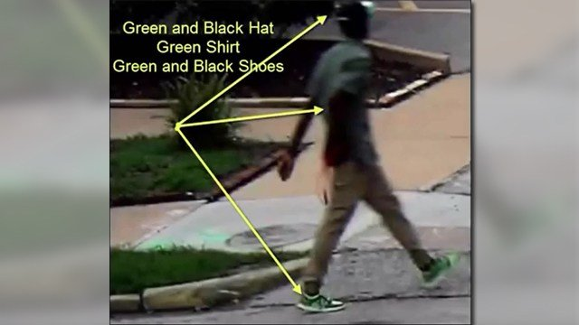 SLMPD are asking the public for help to identify an armed robbery suspect. (Credit: KMOV).