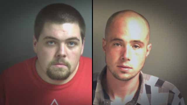 Tyler Phelps, 23, and Jesse Brewer, 31, are allegedly behind a string of burglaries in Franklin County. The two also allegedly sold the stolen items at pawn shops in the St. Louis area. Credit: Franklin County Sheriff