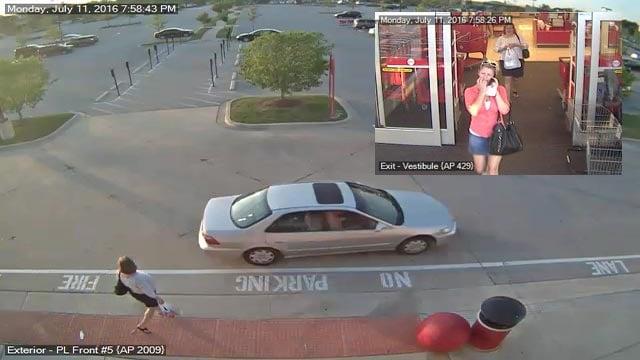 Surveillance photos of Target theft suspect (Credit: CrimeStoppers)
