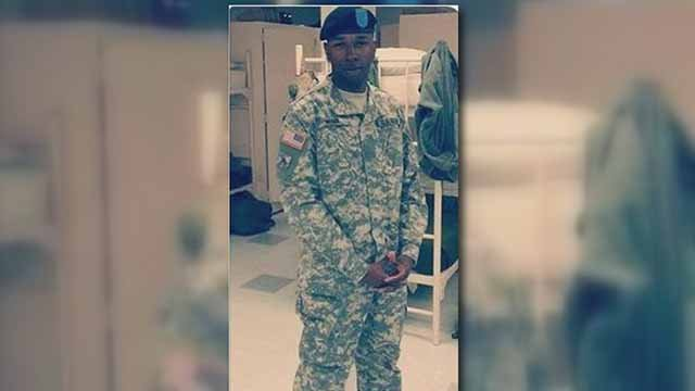 Quince Ware, 23, was shot and killed in East St. Louis on July 19. He was a member of the Illinois National Guard. Credit:  Freddie Miller